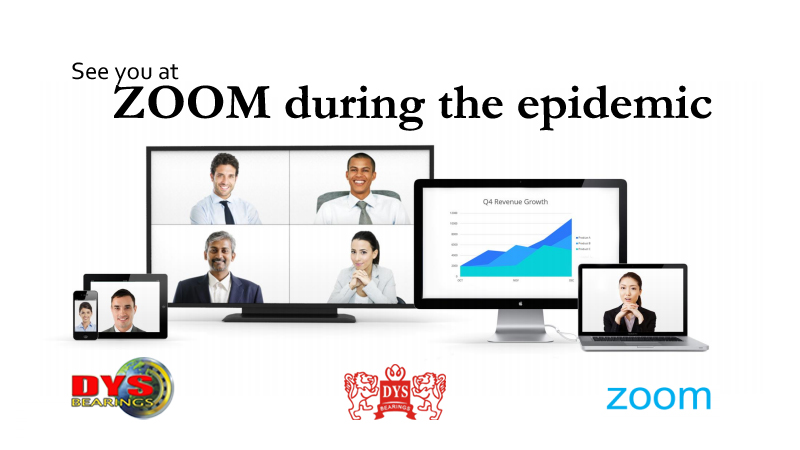 See you at ZOOM during the epidemic · 疫情期间 我们Zoom见